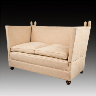 Superbe Knole Settee, Mill House Antiques